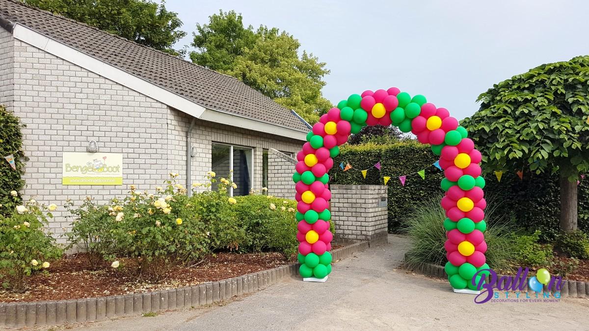 ballonnenboog ballonboog bloemenboog Balloon Styling