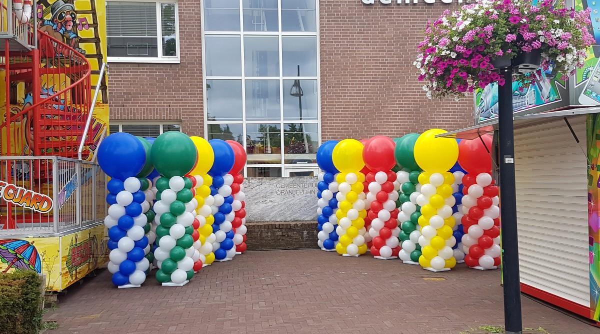 ballonpilaar ballonnenpilaren Balloon Styling Tilburg