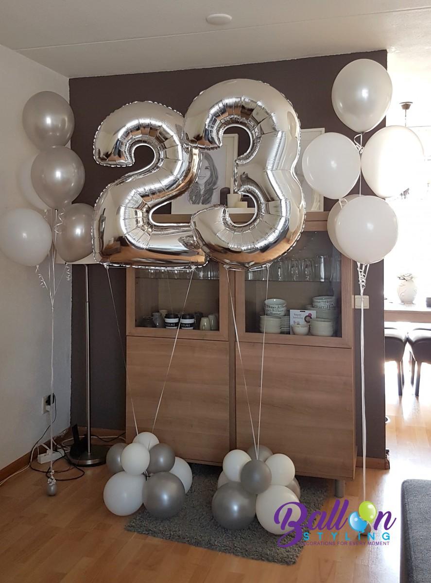 Balloon Styling ballonnendecoratie ballonnencijfers luxe gronddecoratie Brabant Tilburg Reeshof