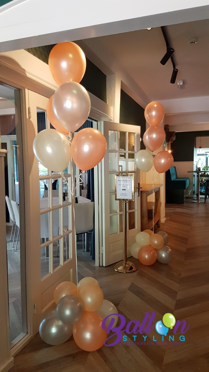 Balloon Styling Tilburg heliumballonnen gronddecoraties