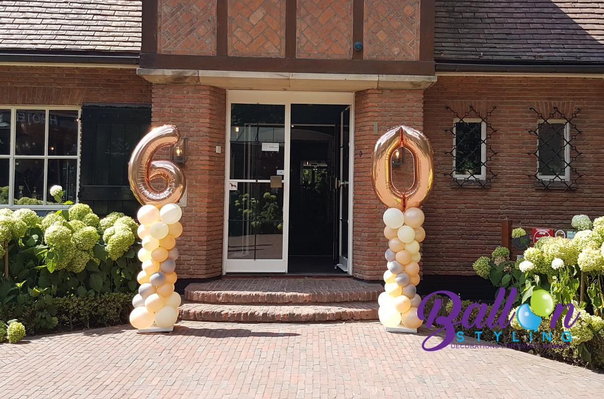 Balloon Styling Tilburg 60 jarig huwelijk