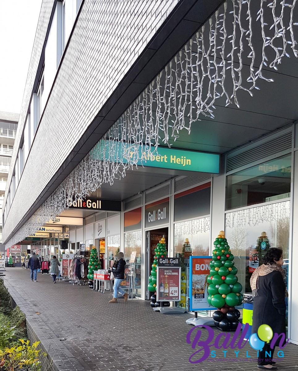 Balloon Styling Tilburg ballonnenpilaar ballonpilaar kerstboom