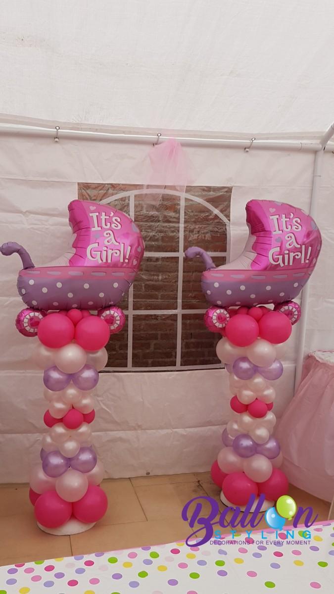 Balloon Styling Tilburg ballonnenpilaar ballonpilaar babyshower