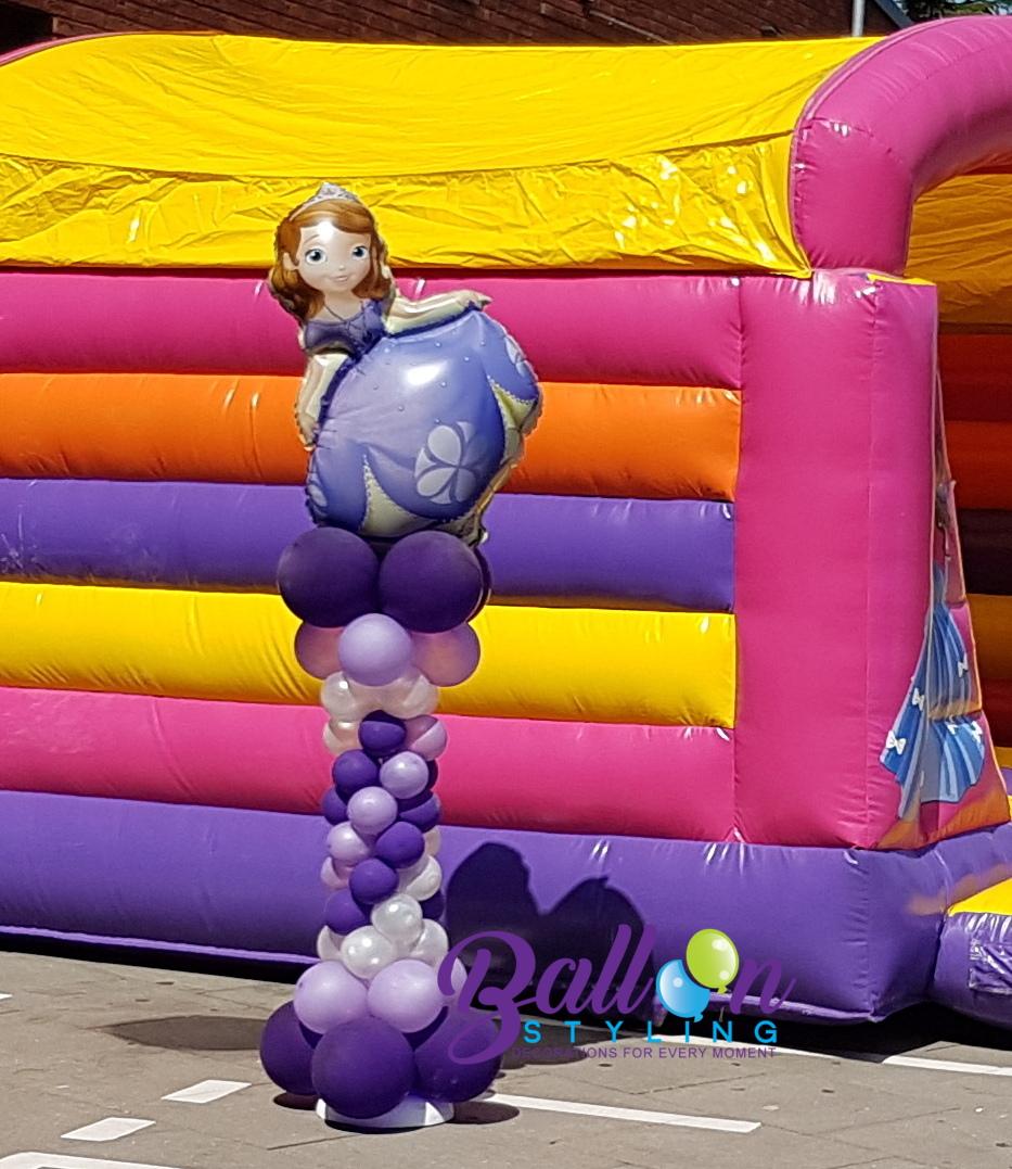 Balloon Styling Tilburg ballonnenpilaar ballonpilaar prinses
