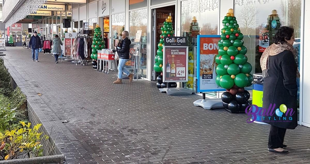 Balloon Styling ballonnendecoraties ballonnenpilaren ballonpilaar kerstboom
