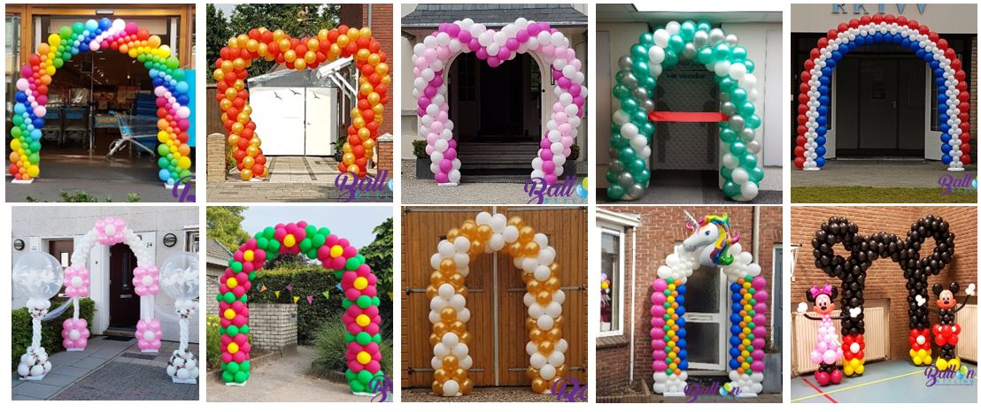 Balloon Styling ballonnenboog ballonboog Tilburg Brabant