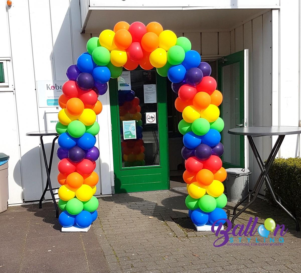 Balloon Styling regenboog Tilburg