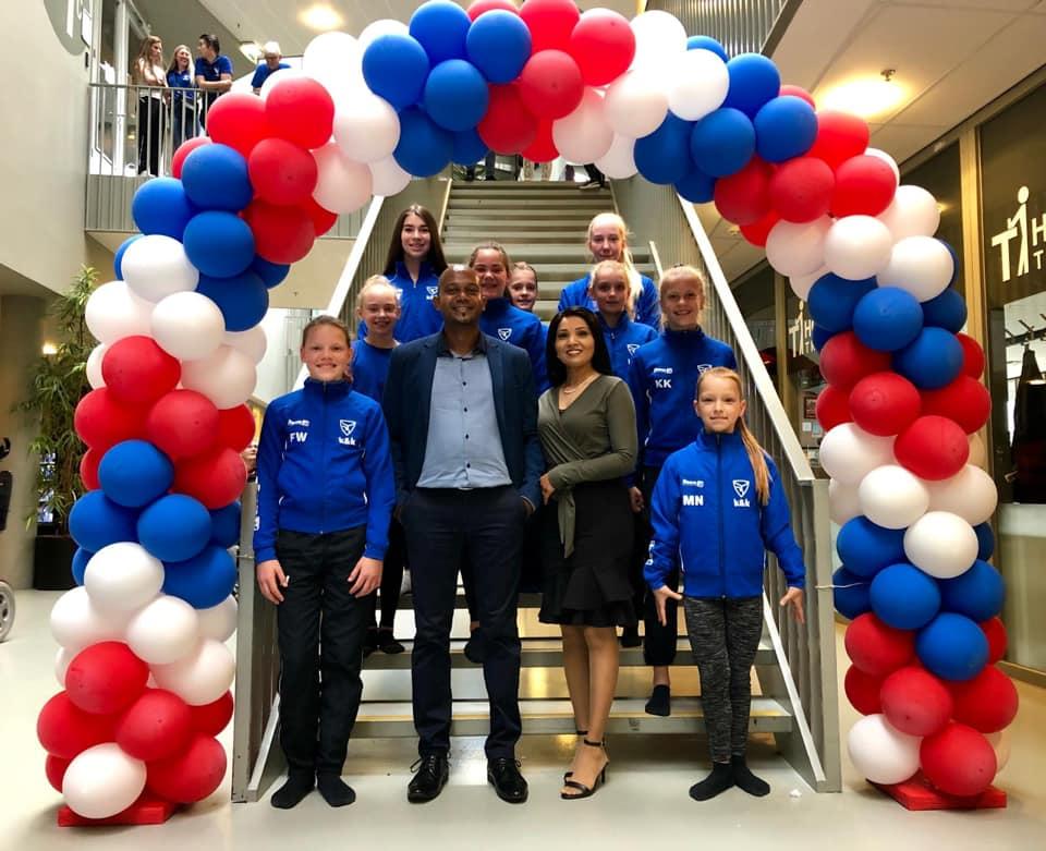 Balloon Styling Tilburg ballonnenboog ballonboog TKwadraat Bondskampioenschap Turnen