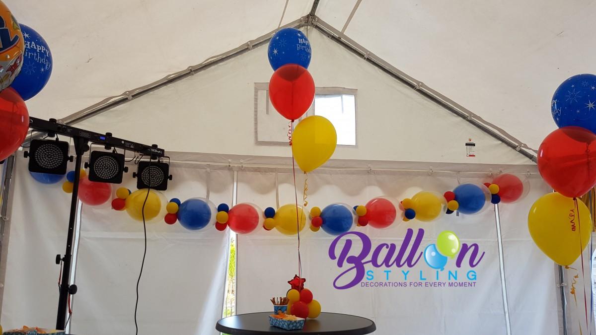Balloon Styling Bumba-slinger doorknoopballonnen ballonnen Tilburg (1)