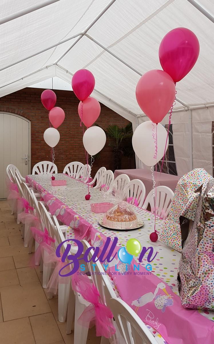 Balloon Styling Tilburg heliumballonnen-babyshower gender reveal kraamfeest ballonnen Tilburg