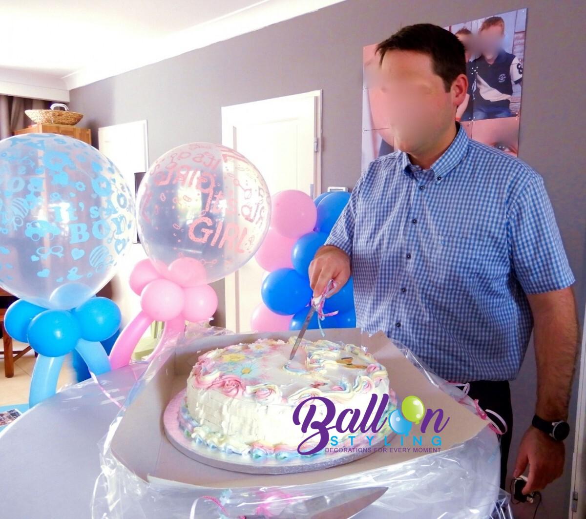 Balloon-Styling-baby-fopspeen-gender-reveal-decoratie-babyshower-babykraam gender reveal ballonnen Tilburg
