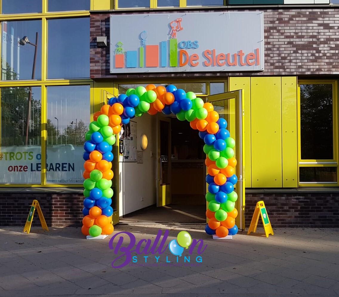 Balloon Styling Tilburg Ballonnenboog ballonboog ballonnen Tilburg De Sleutel Tilburg