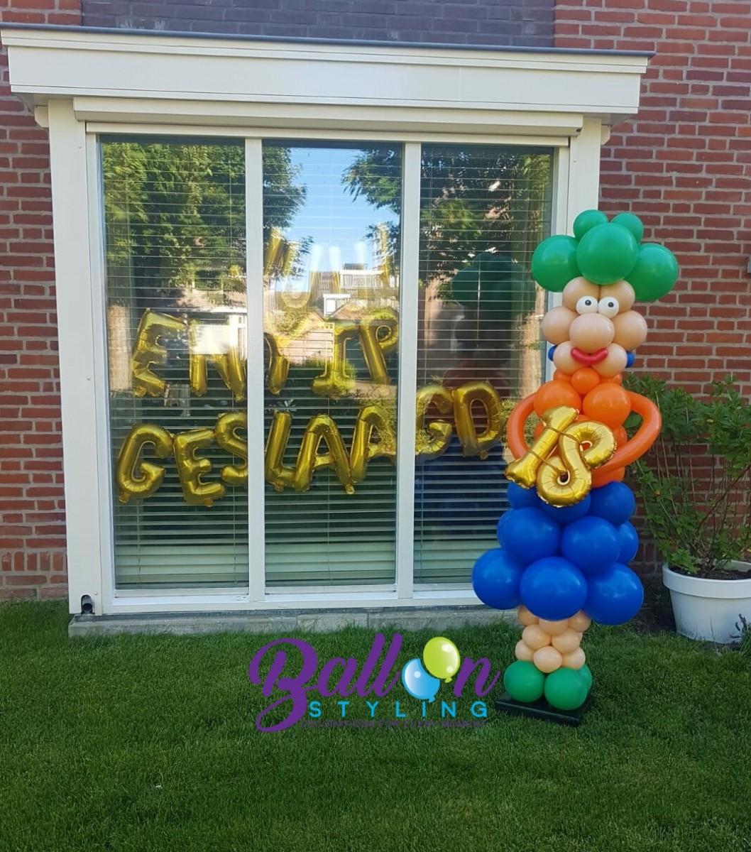 Balloon Styling Tilburg verjaardag 18 jaar ballonnen Tilburg 2