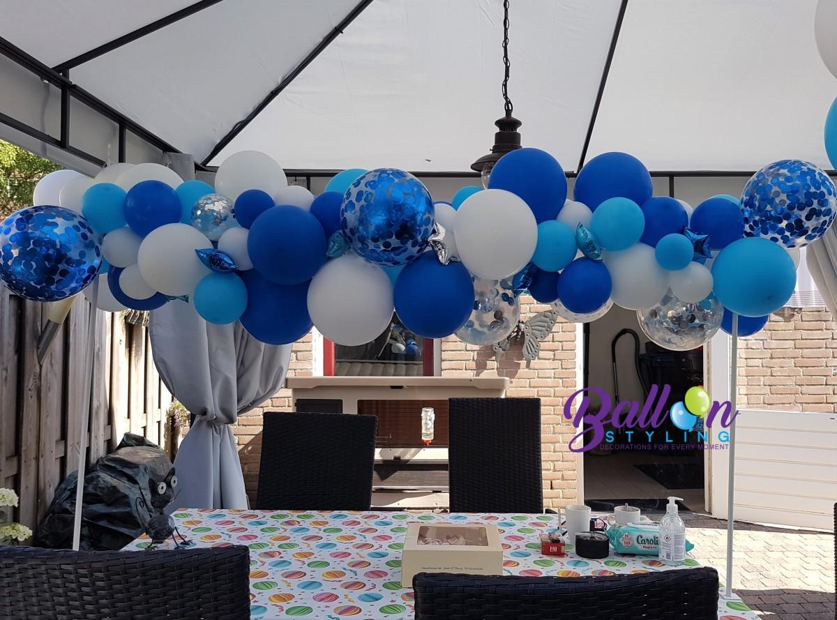 Balloon-Styling-organic ballonnenslinger-bruiloft babyshower-verjaardag ballonnen Tilburg (1)