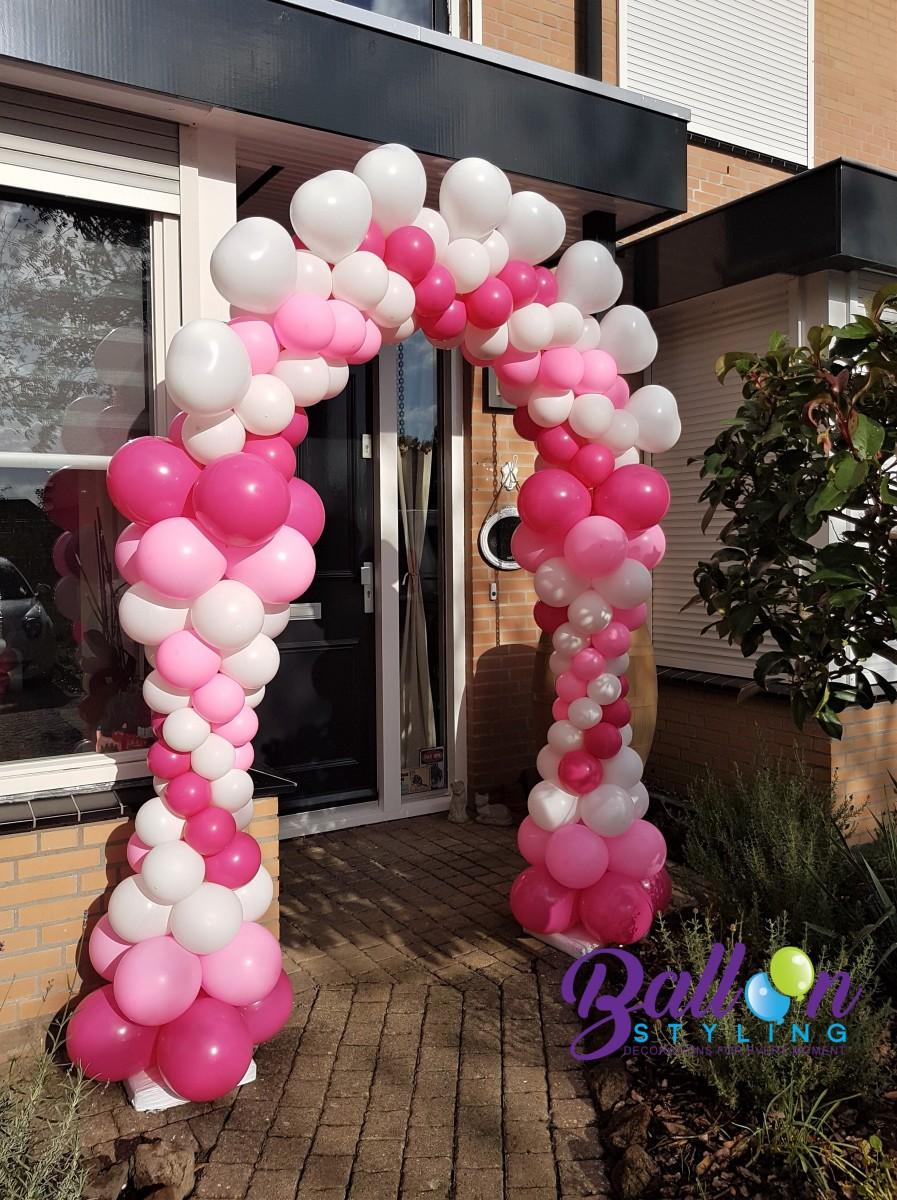 Balloon Styling Tilburg ballonnenboog hartjes huwelijk trouwerij ballonnen Tilburg (1)