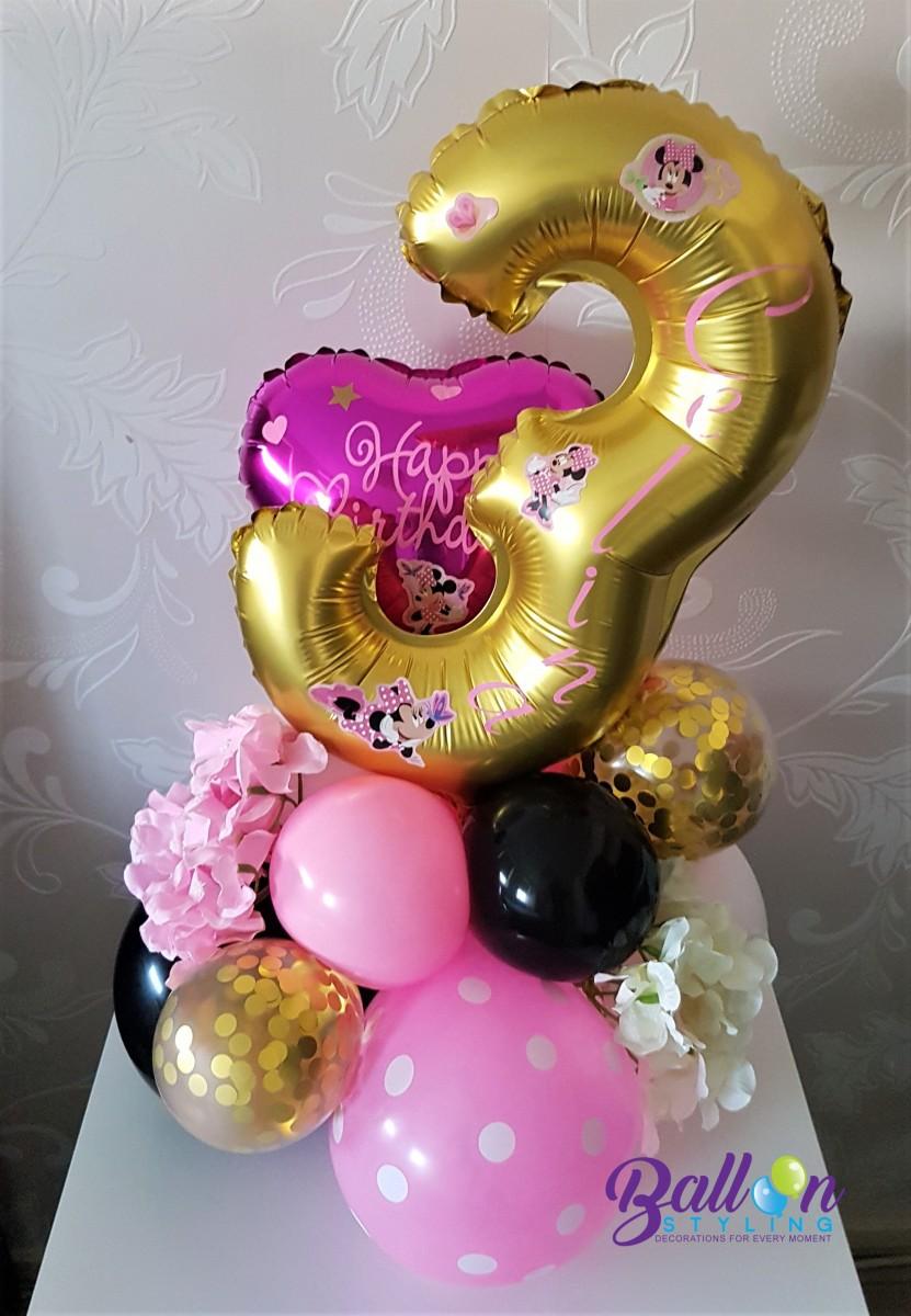 Balloon Styling Tilburg Minnie Mouse gepersonaliseerde ballon bedrukte ballon cijferballon hartballon heliumballonnen ballonnen Tilburg (1)