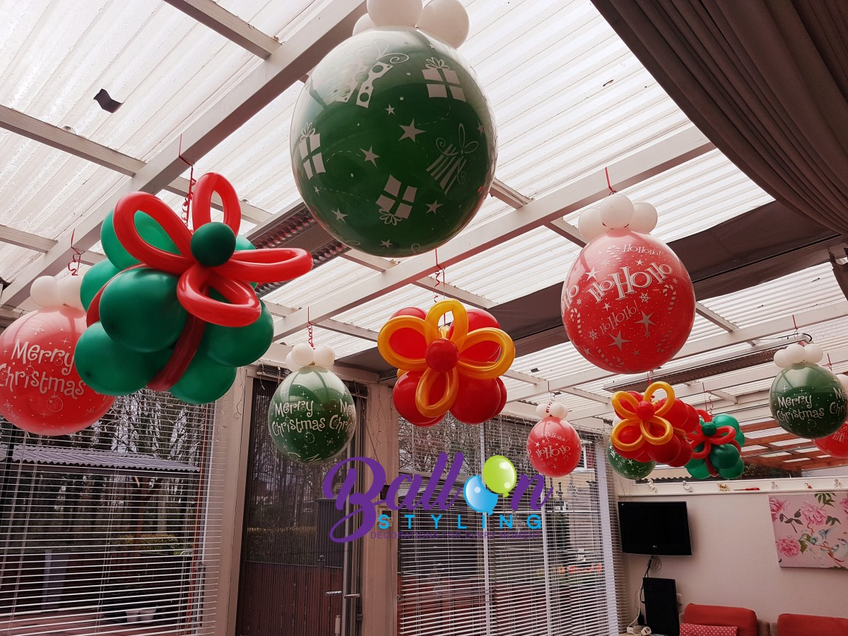 Balloon Styling Tilburg ballonnen kerst cadeau ballon kadoballon ballonnen Tilburg