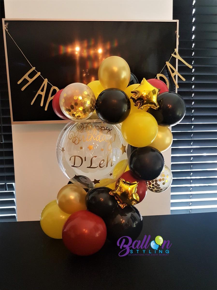 Balloon Styling Tilburg gepersonaliseerde ballon bedrukte ballon confettiballon happy birthday ballonnen Tilburg (1)