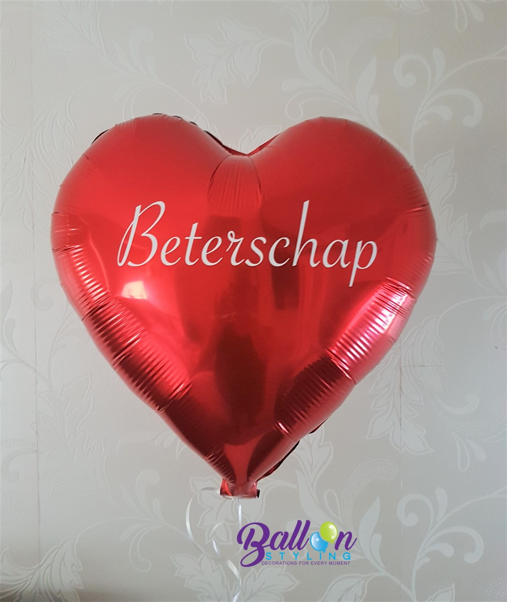 Balloon Styling Tilburg gepersonaliseerde bedrukte ballon beterschap ballonnen Tilburg (1)