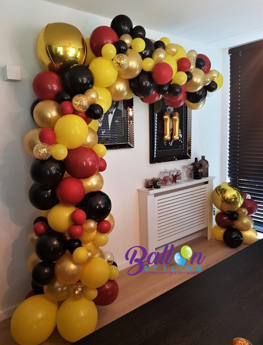 Balloon Styling Tilburg organic ballonnenslinger orbz ballon confettiballon ballonnen Tilburg (1)