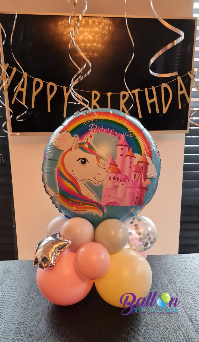 Balloon Styling Tilburg unicorn tafeldecoratie ballonnen Tilburg (1)