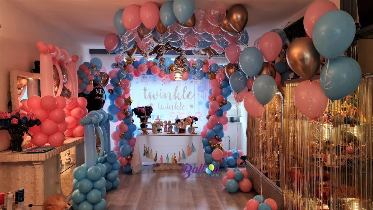 Balloon Styling Tilburg organic ballonnenslinger babyschommel heliumballonnen ballonnen Tilburg