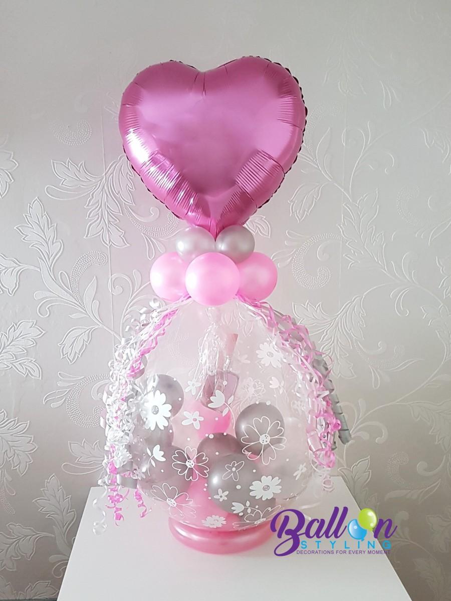 Balloon Styling kado-in-een-ballon-cadeau in een ballon geld in een ballon voor-moederdag ballonnen Tilburg