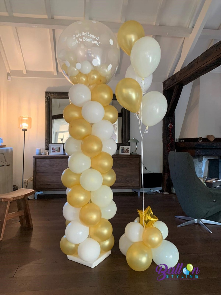 Balloon Styling Tilburg communieballon gronddecoratie ballonnen Tilburg
